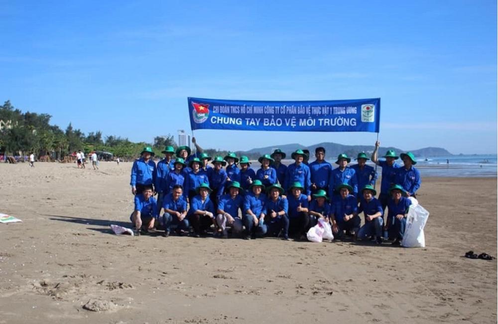 Vai trò của Đoàn thanh niên công ty cổ phần Bảo vệ thực vật 1 Trung ương (PSC.1)
